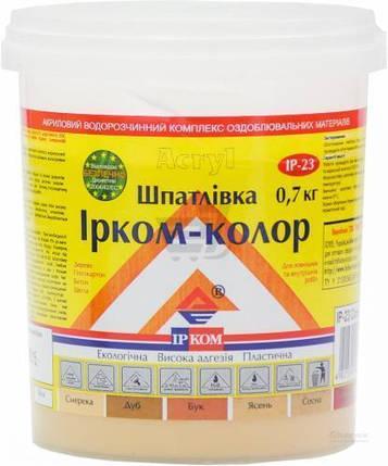 Шпаклівка для дерева IP-23 Ircom Decor Ясен 700 г, фото 2