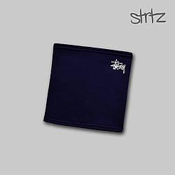 Теплый горловик Stussy синего цвета  (люкс копия)