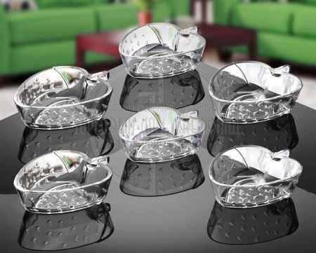 Набор желейниц в форме клубники Isfahan Strawberry 6 шт 600701W, фото 2
