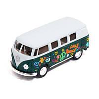 """Машинка KINSMART """"Volkswagen T2 BUS"""" (зеленая) KT5060FW"""