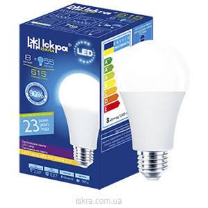 Светодиодные лампы LED ТМ Искра