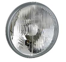 Фара головного света Ø 178 мм с пыльником на ВАЗ 2101, 2102, Ниву, КАМАЗ, Ikarus, ЗАЗ, Волгу, Wesem RE.12411