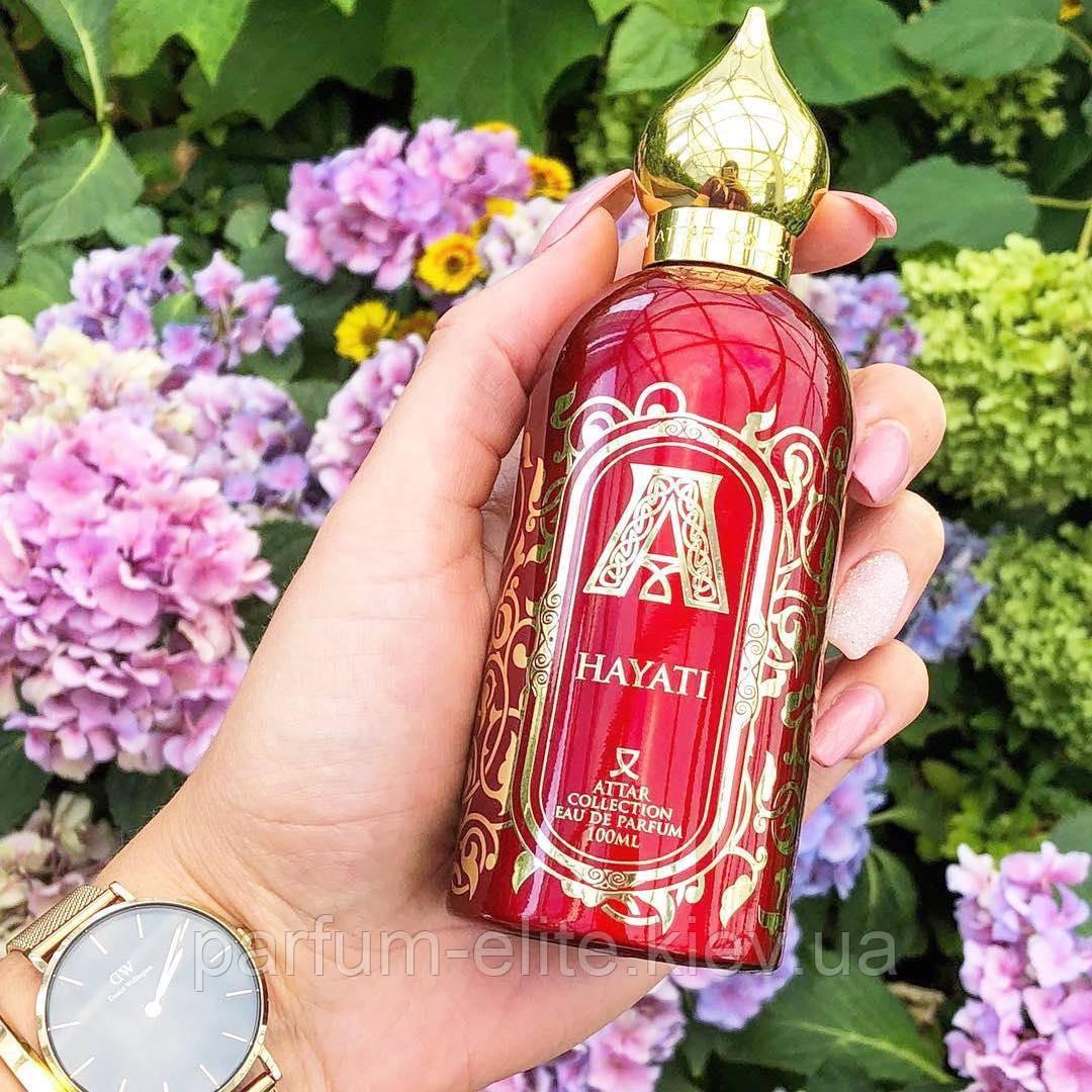 Женская арабская нишевая парфюмированная вода Attar Collection Hayati 100ml