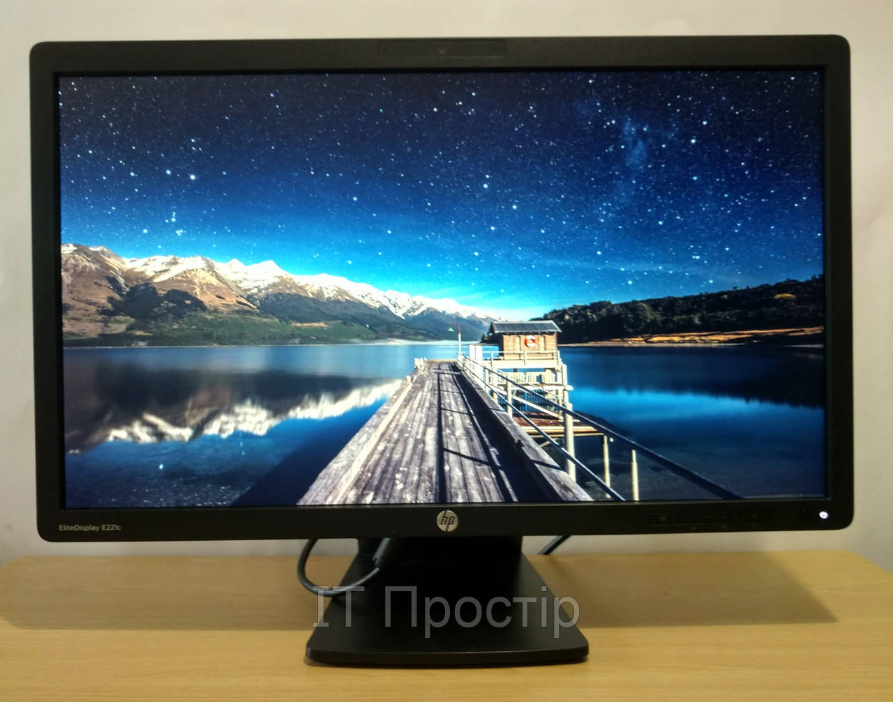 Монітор HP EliteDisplay E221c/IPS/1920*1080/web cam/WLED/ VGA/DVI/DP