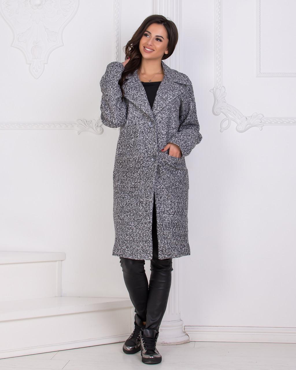 Пальто с карманами на подкладке 04с495