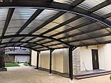 Профильный поликарбонат Suntuf (1,26х2м) 55% бронзовый, фото 2