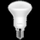 LED лампа Global R50 5W яркий свет 220V E14 (1-GBL-154), фото 2