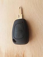 Корпус авто ключа для Opel MOVANO, VIVARO (опель мовано, виваро) ― 2кнопки без лезвия.