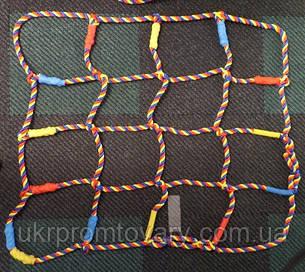 Сетка гладиаторская цветная, любой размер, цена за 1 м.кв., фото 2