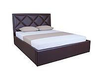 Мягкая кровать Доминик двуспальная с подъемным механизмом