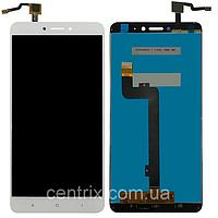 Дисплей (экран) для Xiaomi Mi Max 2 + тачскрин, цвет белый