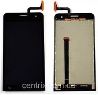 Дисплей (екран) для Asus ZenFone 5 (A500CG, A500KL, A501CG, A502CG) + тачскрін, колір чорний