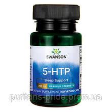 5-гидрокситриптофан, Swanson 5-HTP, 200 мг, 60 капсул