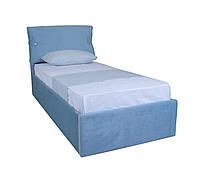 Мягкая кровать Мишель односпальная с подъемным механизмом
