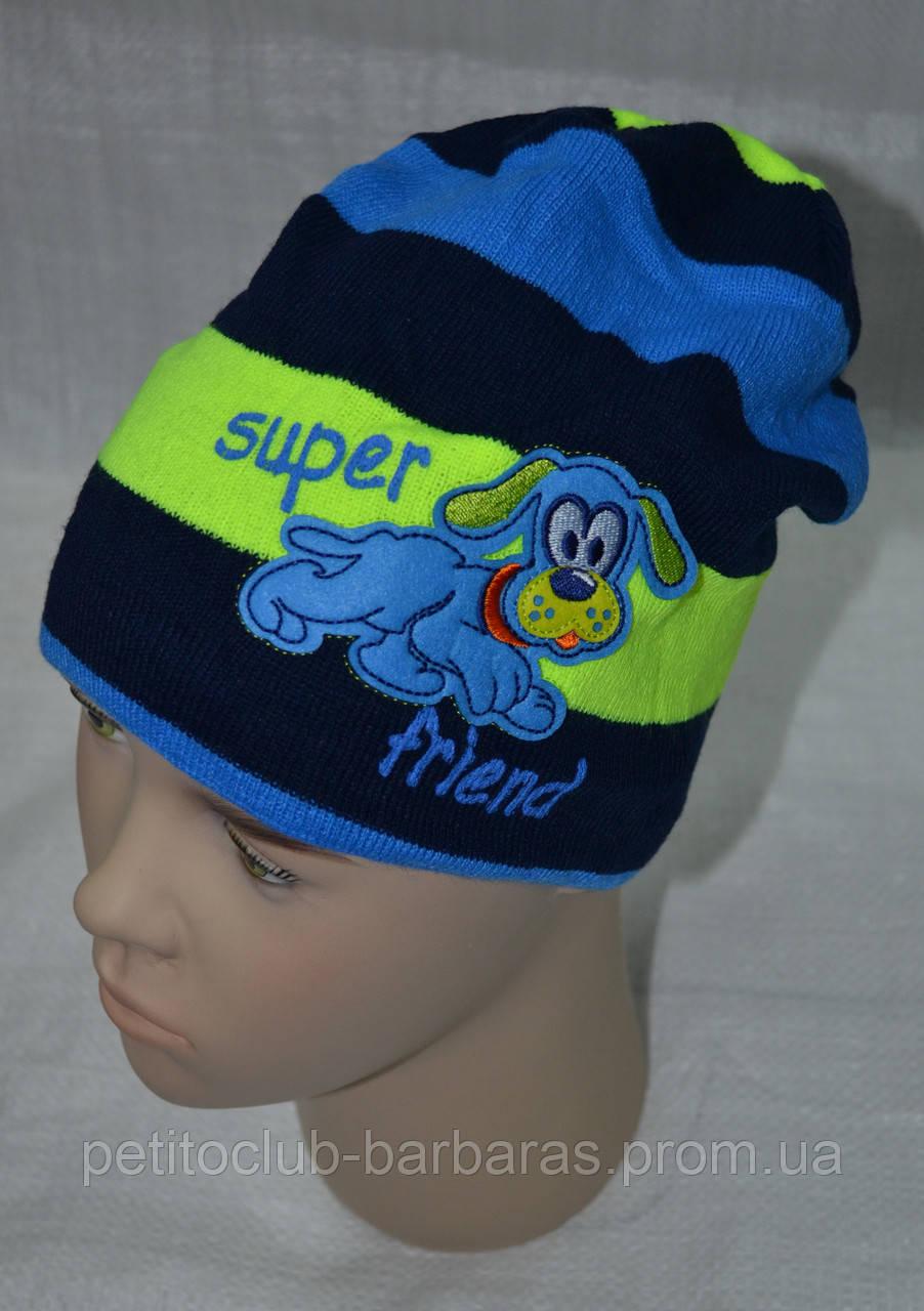 Зимняя шапка для мальчика Super Friend (AJS, Польша)