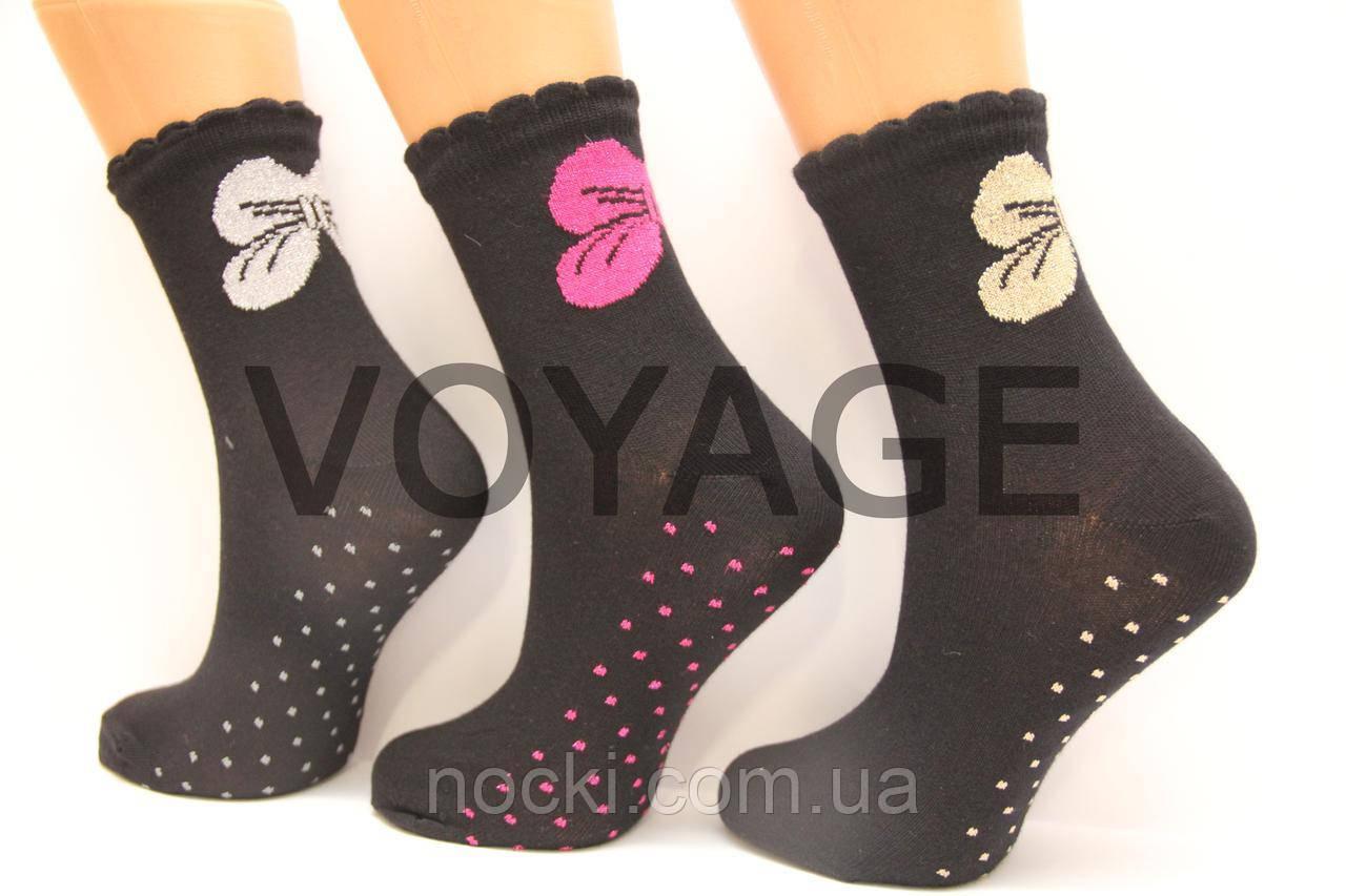 Женские носки с люрексом