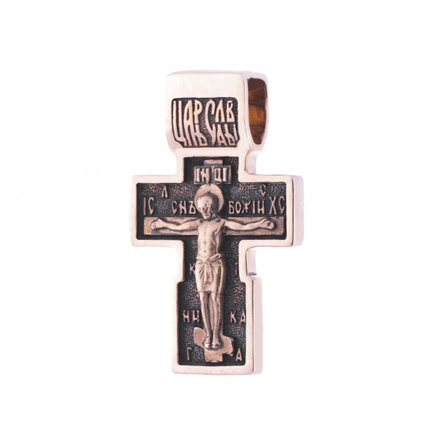 Золотий православний хрест гп01825