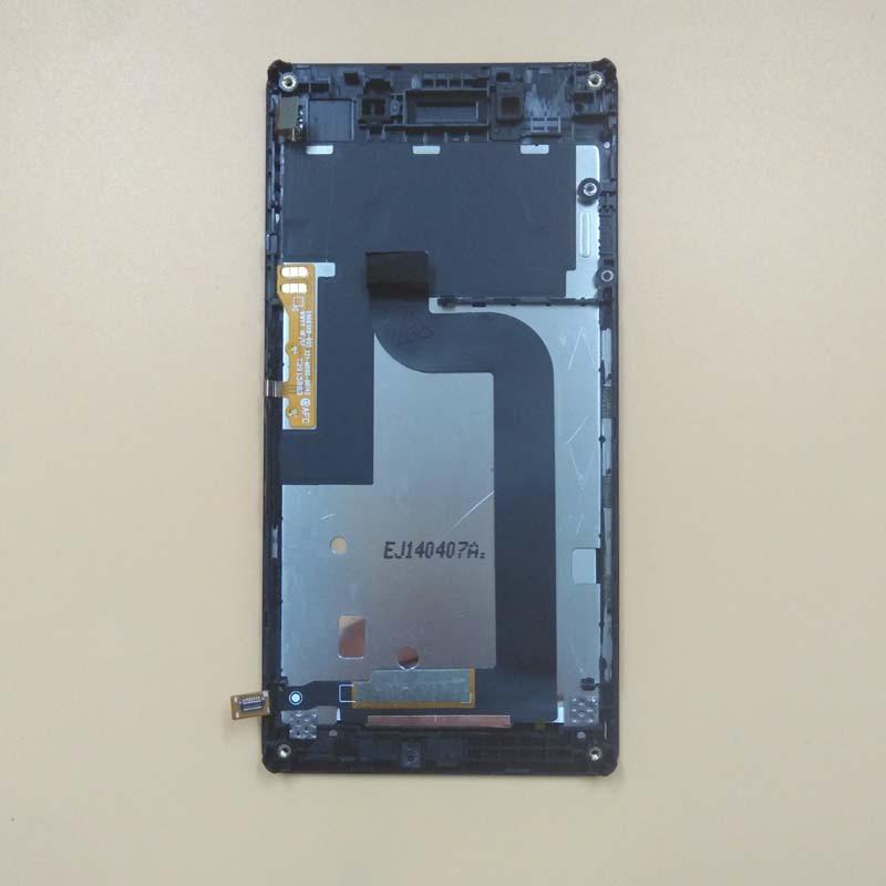 Sony Xperia E3 D2202, D2203, D2206 дисплей в сборе с тачскрином модуль с рамкой черный Original