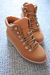 Женские ботинки Коламбия Camel флис 36 - 41