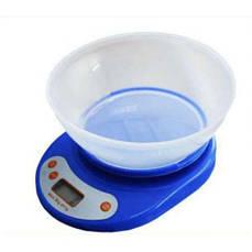 Весы кухонные Domotec ACS KE-A до 5 кг с чашей