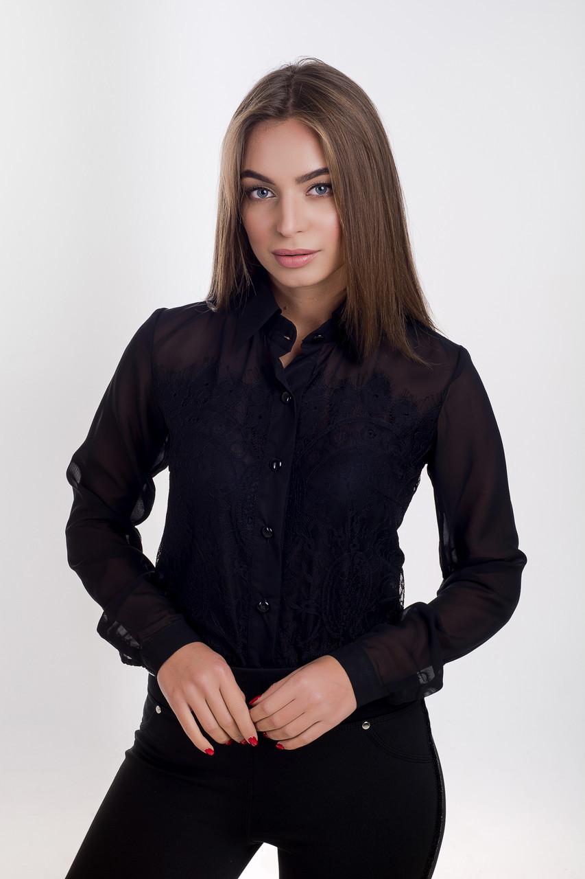 Блузка  K&ML 478 черный 44
