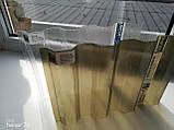 Профильный поликарбонат Suntuf колотый лед (1,06х5м) прозрачный 2УФ защиту, фото 3