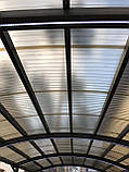 Профильный поликарбонат Suntuf колотый лед (1,06х5м) прозрачный 2УФ защиту, фото 4