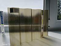 Профільний полікарбонат Suntuf колотий лід (1,06х3м), бронза, фото 1