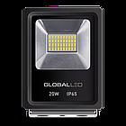 Прожектор Global FLOOD LIGHT 20W 5000K холодный свет (1-LFL-002), фото 2