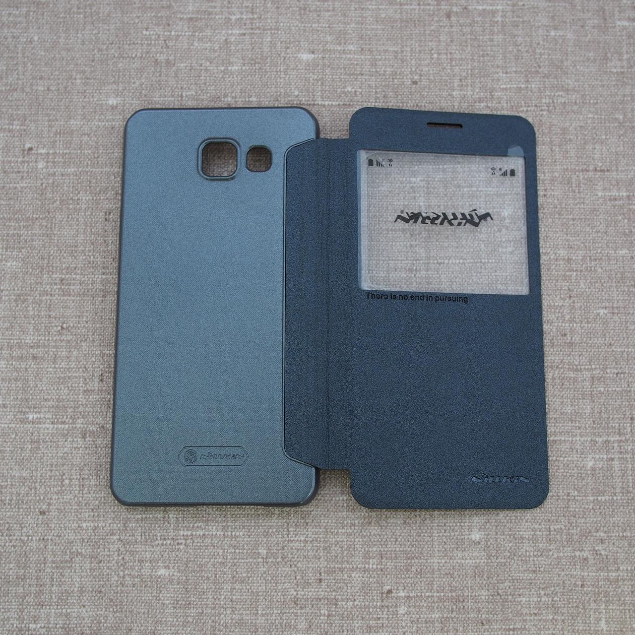 Nillkin Sparkle Samsung Galaxy A510 black A51 Для телефона