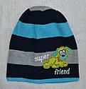 Зимняя шапка для мальчика Super Friend (AJS, Польша), фото 3