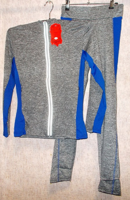 Спортивний костюм кофта з капюшоном і лосини розмір XL