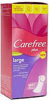 Гигиенические прокладки Carefree Plus Large 20шт.