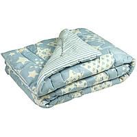 "Шерстяное одеяло  Руно™  ""Blue star"" 200х220см Особо теплое, фото 1"
