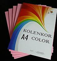 Бумага цветная 80 г/м « PINK» розовый пастель