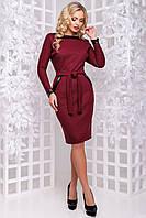 Ефектне плаття з шкіряною обробкою 44 - 48р