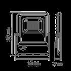 Светодиодный прожектор MAXUS 30W, 5000 K (1-MAX-01-LFL-3050), фото 2
