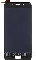 Дисплей (экран) для Asus ZenFone 3s Max (ZC521TL) + тачскрин, черный