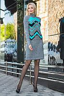 Вязаное платье Сондра р 42-50, фото 1