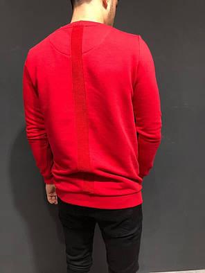 Свитшот мужской красного цвета, фото 2