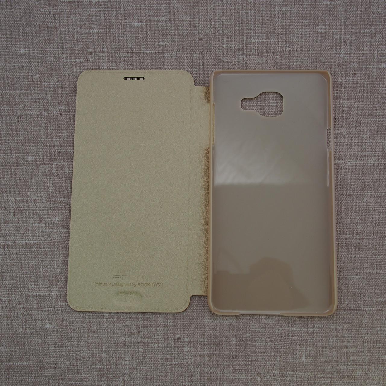 Чехлы для Galaxy A Series (остальные модели) ROCK Touch Samsung A7 gold (A750) 2018 Для телефона Rock