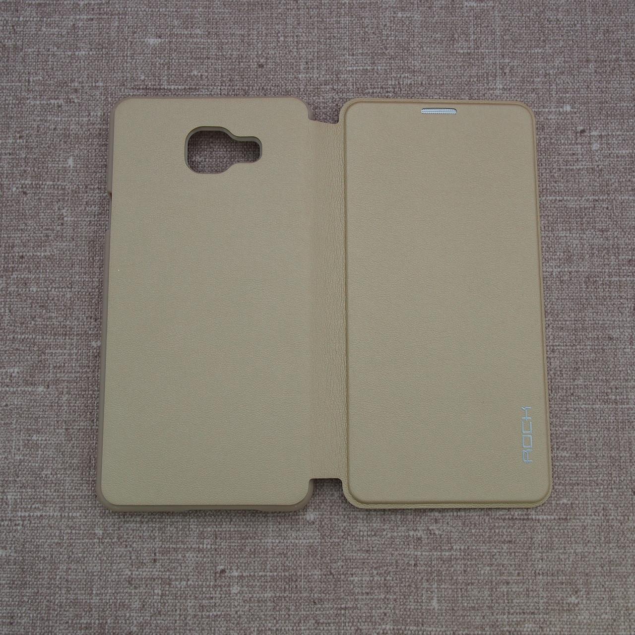 Чехлы для Galaxy A Series (остальные модели) ROCK Touch Samsung A7 gold (A750) 2018 Для телефона
