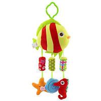 Рыба. Игрушки с музыкой ветра,колокольчики. Подвески с погремушками Happy monkey