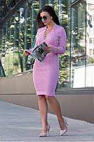 Вязаное платье Риханна 42-50, фото 1
