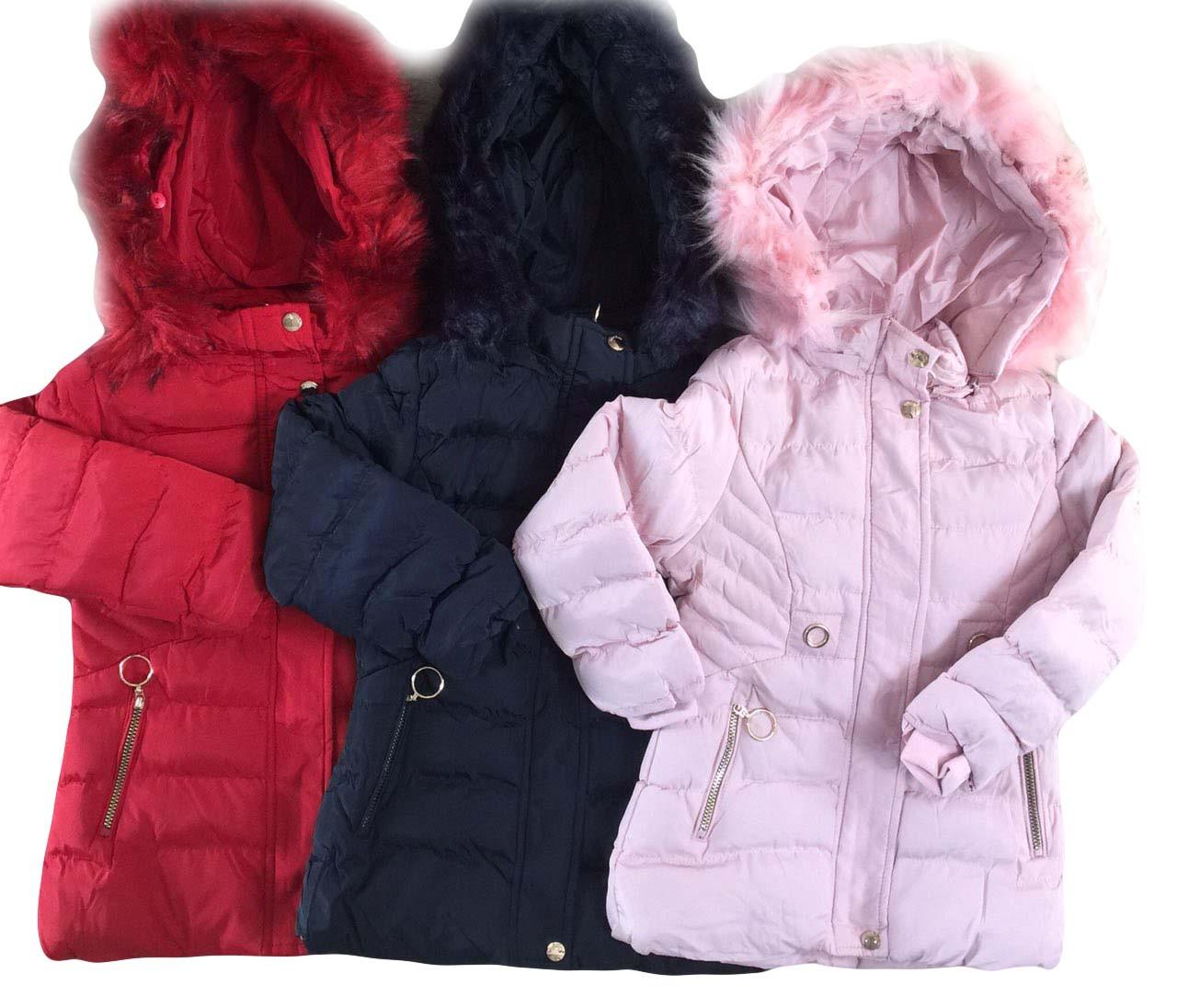 Куртки для девочек утеплённые оптом , размеры 12-36 мес, Nature, арт. RSG-5521