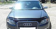 Мухобойка на капот AUDI A4 (кузов 8B,8K) с 2008–2011 г.в.
