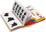 Танграм (Tangram) Дорожня магнітна гра головоломка 150 завдань, фото 2