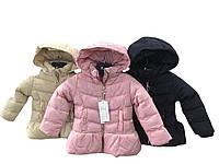 Куртки для девочек утеплённые оптом, размеры 12-36 мес, Nature, арт. 5514