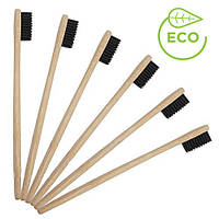 Натуральная Зубная щетка из бамбука