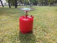 Газові балони 8 літрів з пальником. Газовий комплект 8 л Примус, фото 3